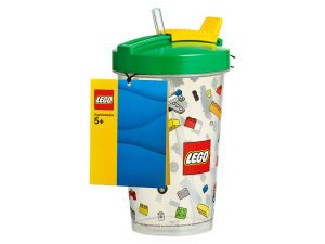 bicchiere con cannuccia lego 853908