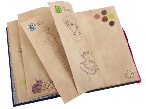 blocco da disegno di emily jones lego 853565 elves