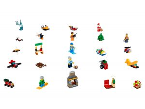 calendario dellavvento di lego 60155 city