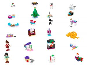 calendario dellavvento lego 41131 friends