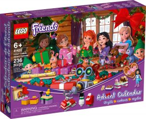 calendario dellavvento lego 41420 friends