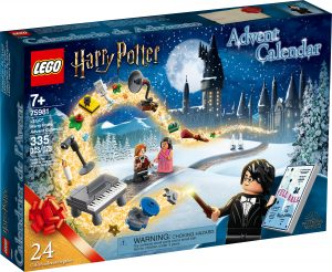 calendario dellavvento lego 75981 harry potter