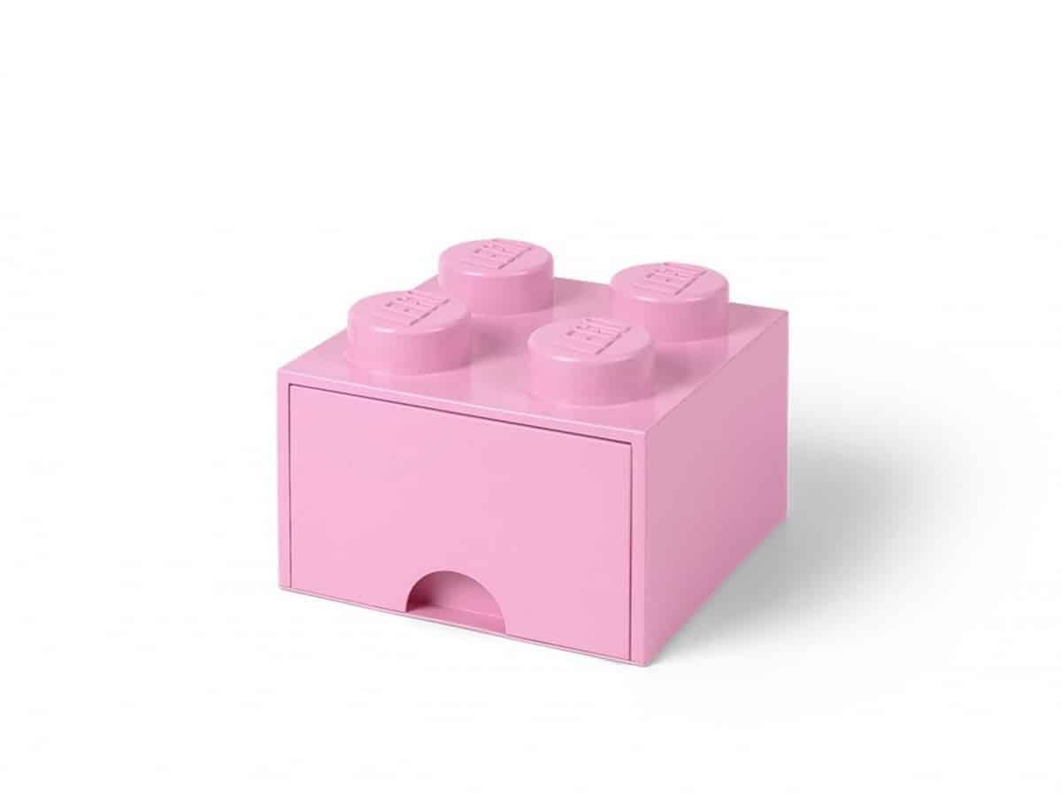 cassetto mattoncino portaoggetti lilla a 4 bottoncini lego 5006173 scaled