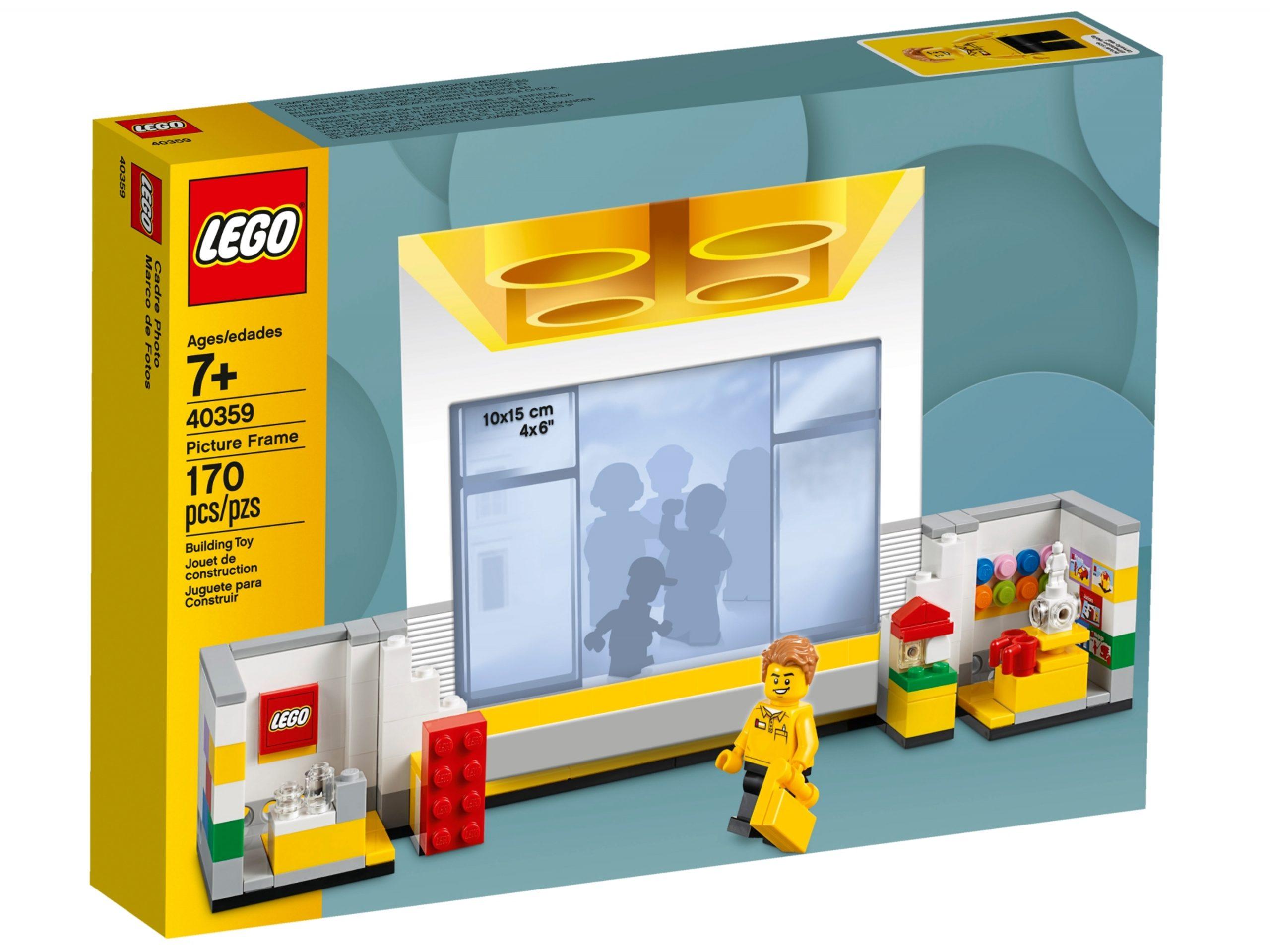 cornice portafoto lego 40359 store scaled