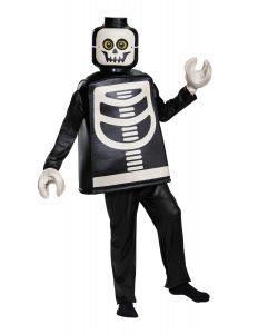 costume da scheletro deluxe lego 5006010