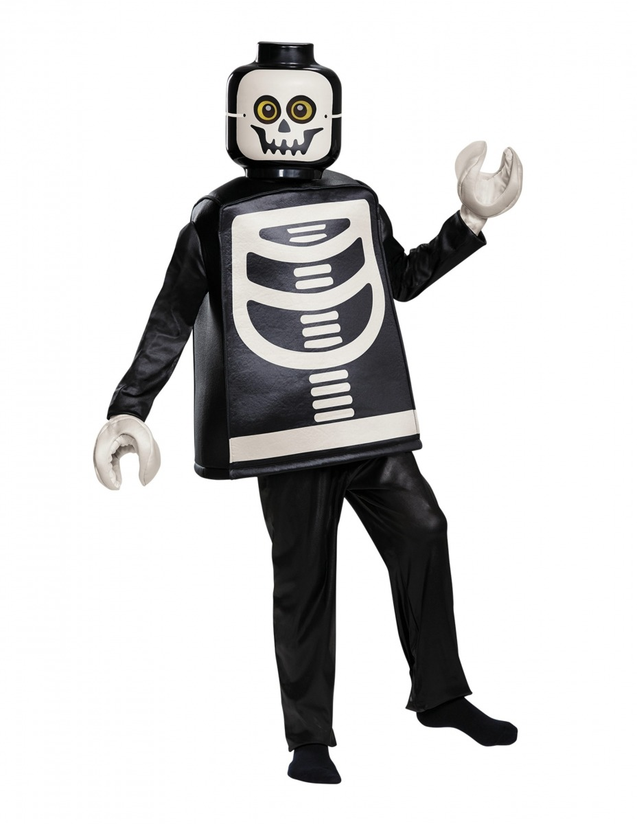 costume da scheletro deluxe lego 5006010 scaled