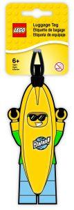 etichetta per bagagli uomo banana lego 5005580
