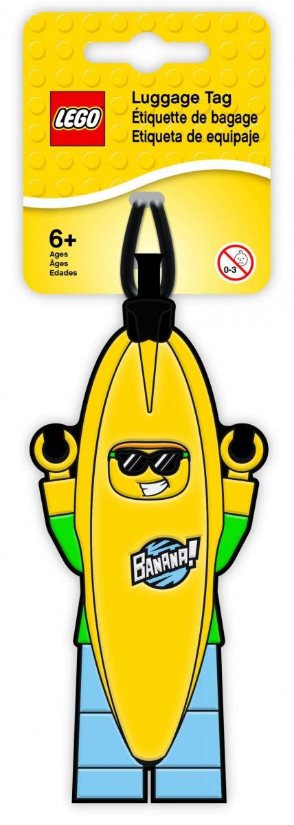 etichetta per bagagli uomo banana lego 5005580 scaled