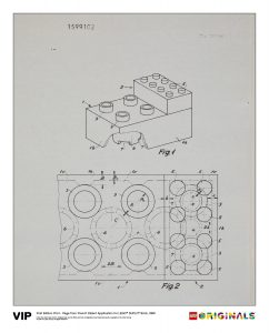 french patent duplo 5005998 brick 1968