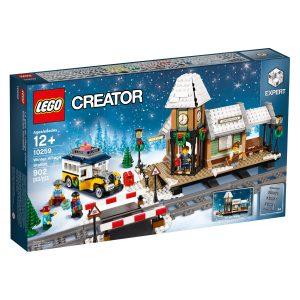 lego 10259 stazione del villaggio invernale