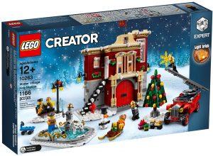 lego 10263 caserma dei pompieri del villaggio invernale