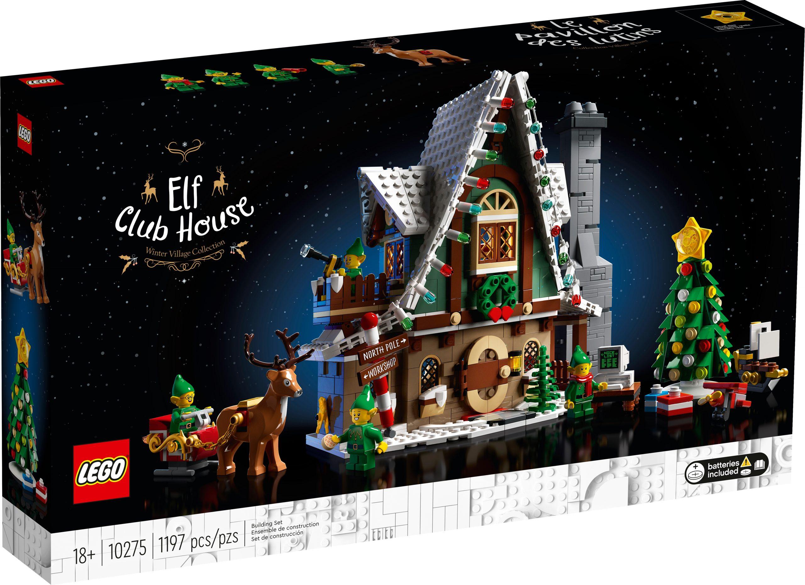 lego 10275 la casa degli elfi scaled