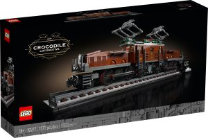 lego 10277 locomotiva coccodrillo