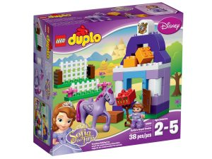 lego 10594 la scuderia reale di sofia the first