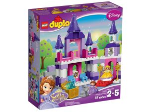 lego 10595 il castello reale di sofia the first