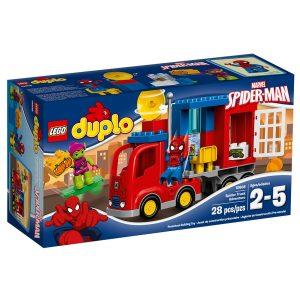 lego 10608 lavventura del camion ragno di spider man