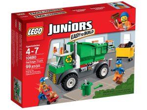 lego 10680 camioncino della spazzatura