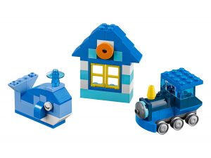 lego 10706 scatola della creativita blu