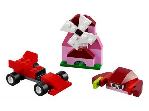 lego 10707 scatola della creativita rossa