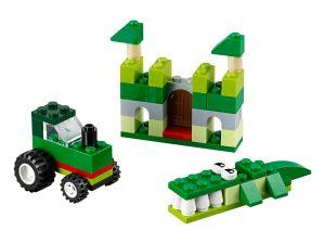 lego 10708 scatola della creativita verde