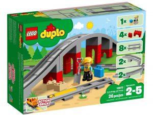 lego 10872 ponte e binari ferroviari