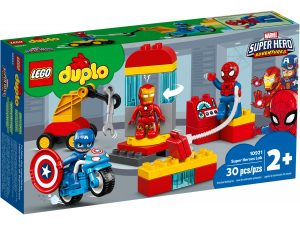 lego 10921 il laboratorio dei supereroi
