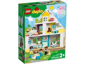 lego 10929 casa da gioco modulare