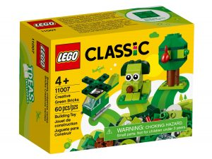 lego 11007 mattoncini verdi creativi