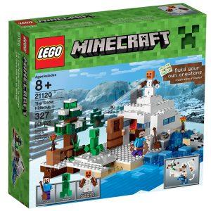 lego 21120 nascondiglio nella neve