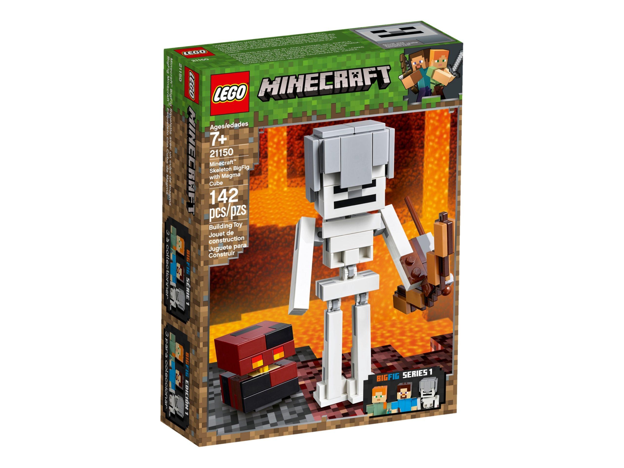 lego 21150 maxi figure dello scheletro con cubo di magma scaled