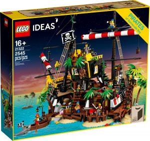 lego 21322 i pirati di barracuda bay