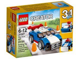 lego 31027 auto da corsa blu
