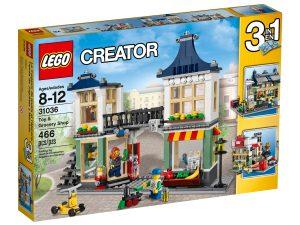 lego 31036 negozio di giocattoli e drogheria