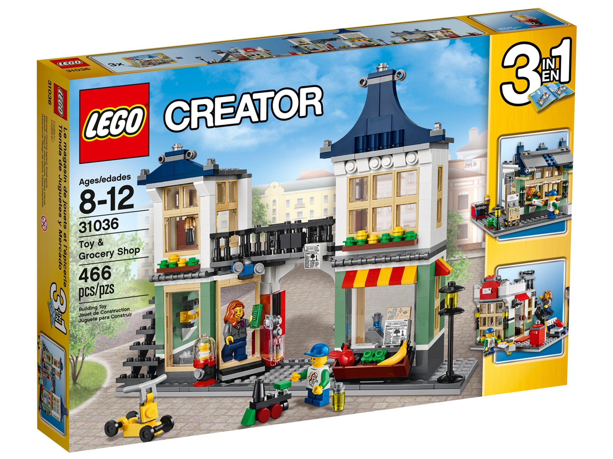 lego 31036 negozio di giocattoli e drogheria scaled