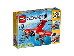 lego 31047 aereo a elica