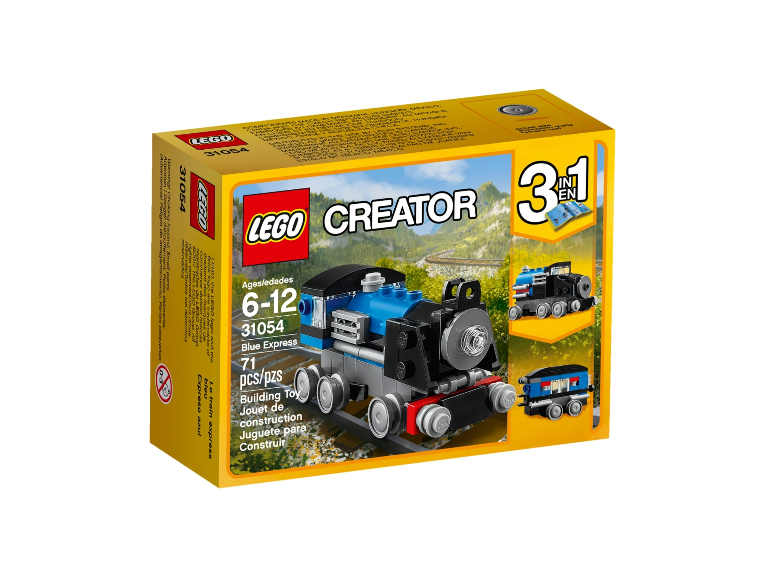 lego 31054 locomotiva blu scaled