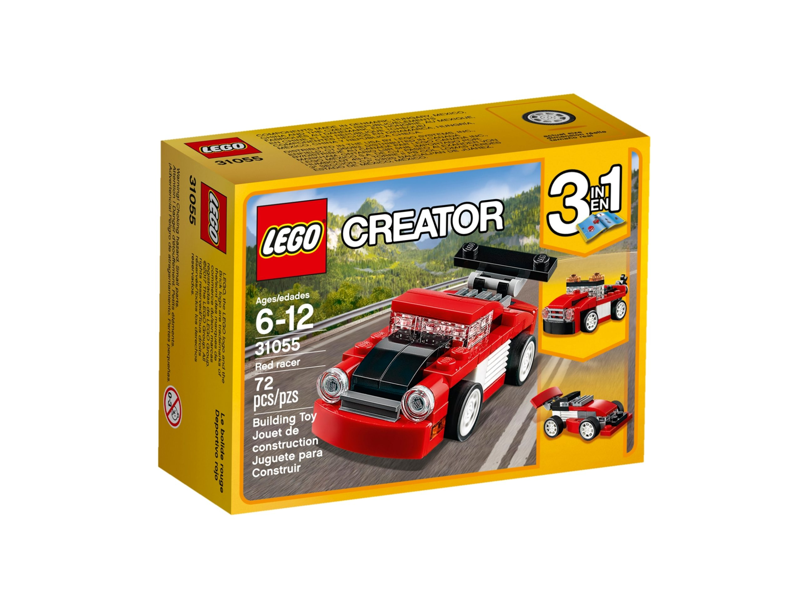 lego 31055 bolide rosso scaled