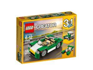 lego 31056 decappottabile verde
