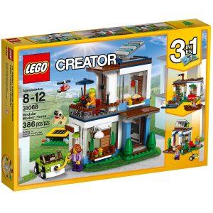 lego 31068 casa moderna modulabile