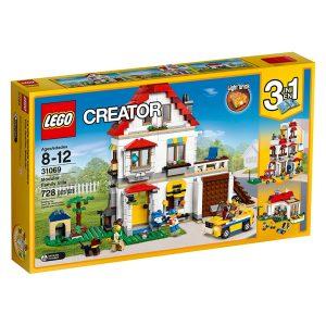 lego 31069 villetta familiare modulabile