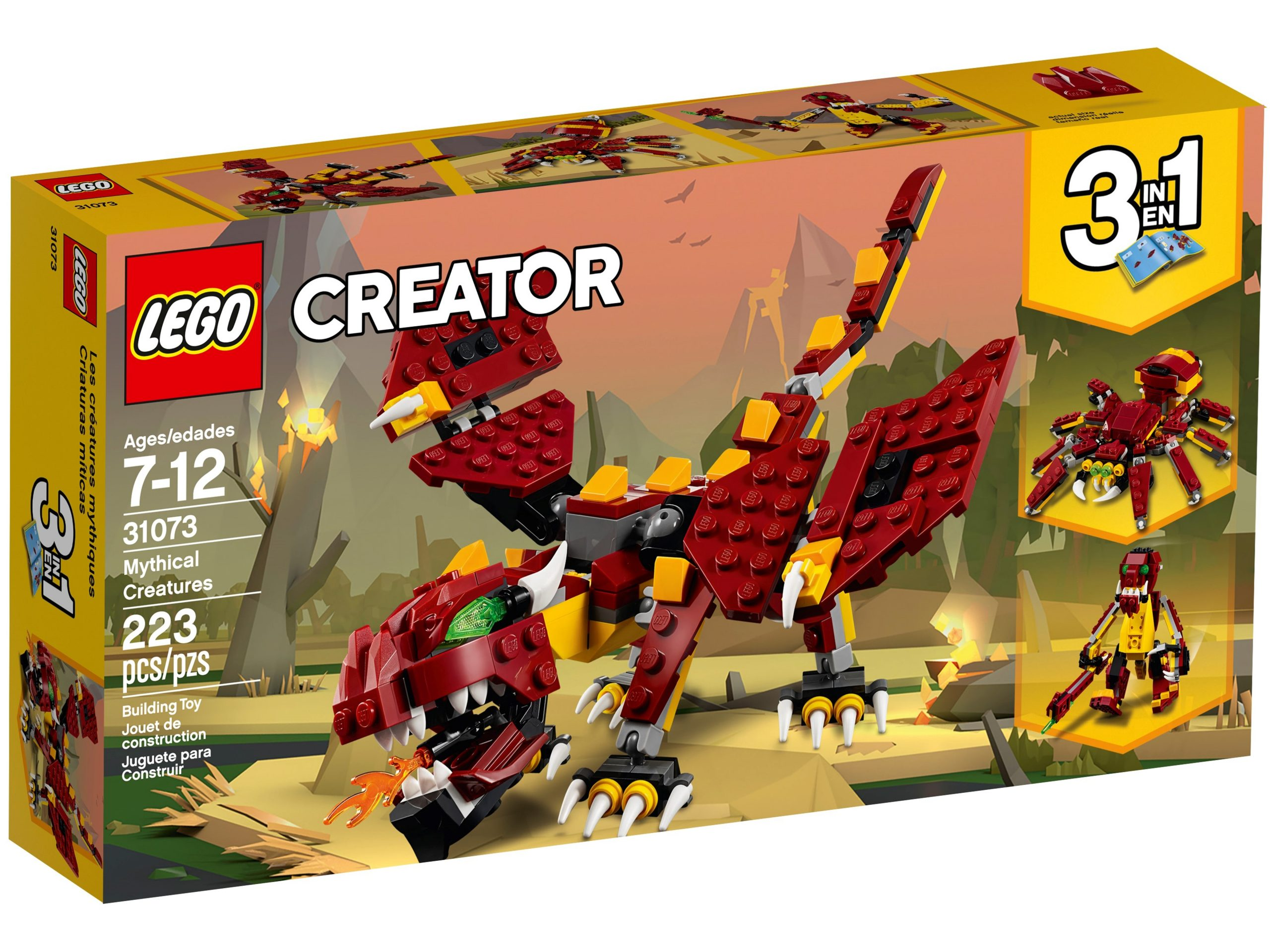 lego 31073 creature mitiche scaled