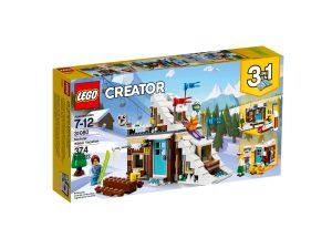 lego 31080 vacanza invernale modulare