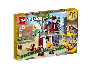 lego 31081 skate house modulare