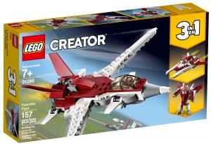lego 31086 aereo futuristico