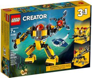 lego 31090 robot sottomarino