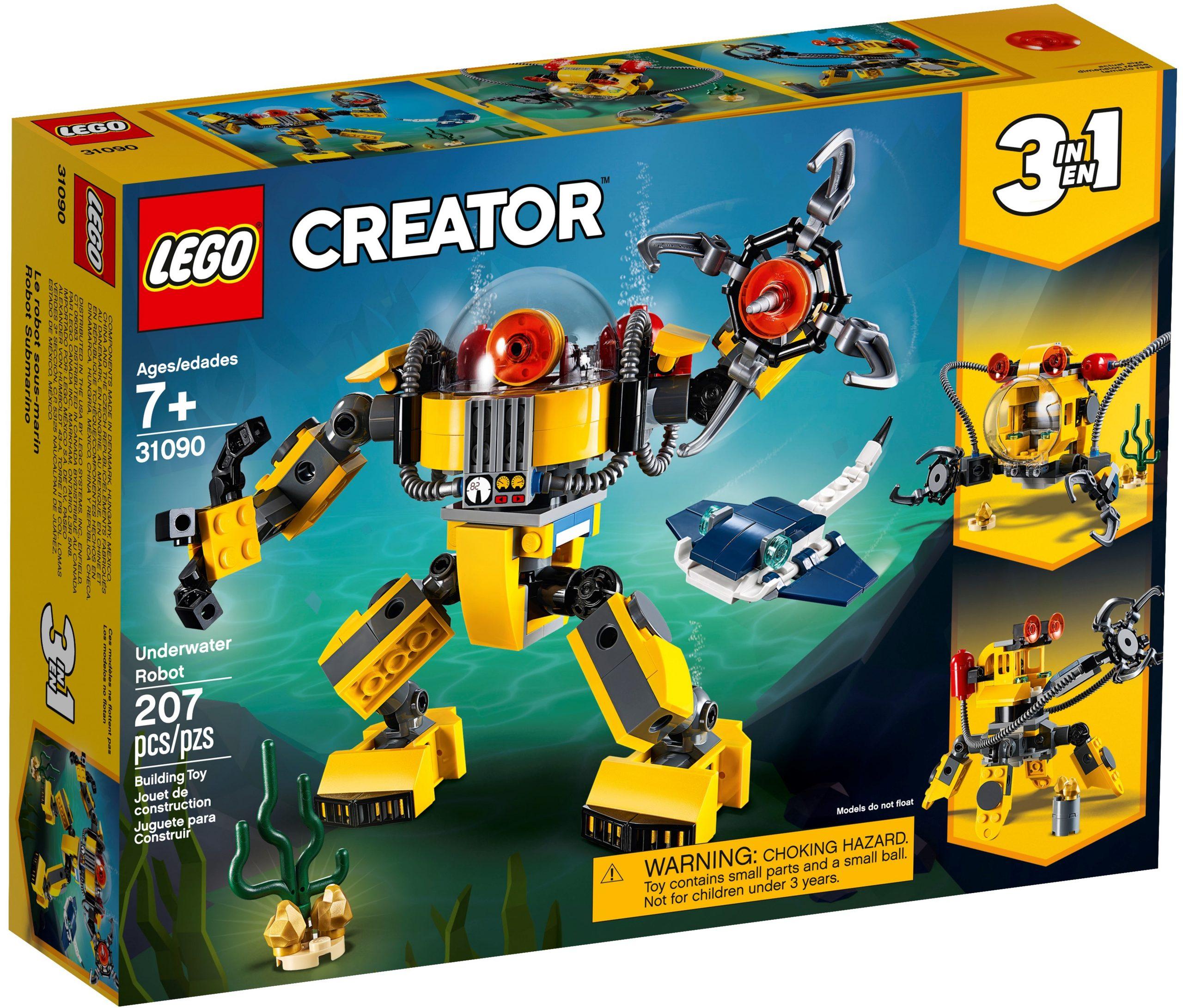 lego 31090 robot sottomarino scaled