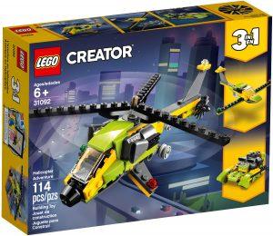 lego 31092 avventura in elicottero