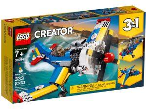 lego 31094 aereo da corsa