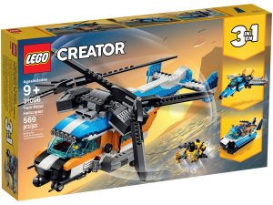 lego 31096 elicottero bi rotore