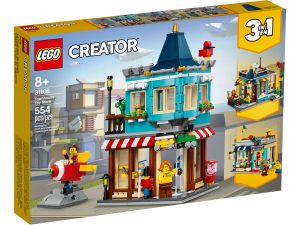 lego 31105 negozio di giocattoli